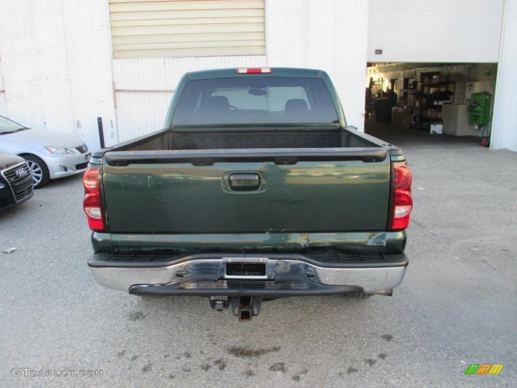 2004 Silverado 1500 LT Crew Cab 4x4 - Dark Green Metallic / Tan photo #11