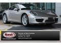 Platinum Silver Metallic 2013 Porsche 911 Carrera Coupe