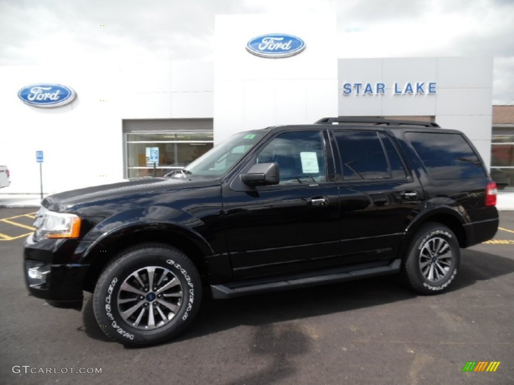 2016 Expedition Xlt 4x4 Shadow Black Metallic Ebony Photo 1