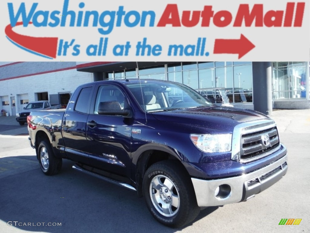 2013 Tundra TRD Double Cab 4x4 - Nautical Blue Metallic / Graphite photo #1