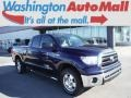 2013 Nautical Blue Metallic Toyota Tundra TRD Double Cab 4x4 #106653965