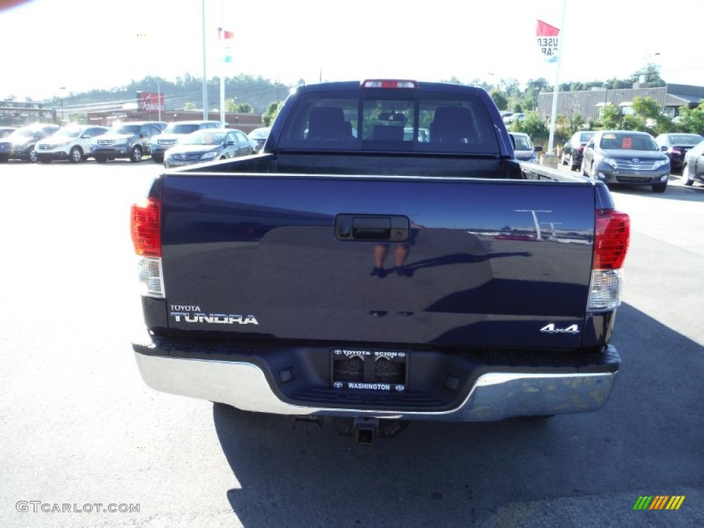 2013 Tundra TRD Double Cab 4x4 - Nautical Blue Metallic / Graphite photo #10