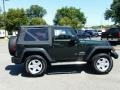 2011 Natural Green Pearl Jeep Wrangler Sport 4x4  photo #5