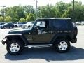2011 Natural Green Pearl Jeep Wrangler Sport 4x4  photo #12