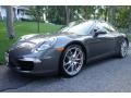 Agate Grey Metallic 2013 Porsche 911 Carrera S Coupe