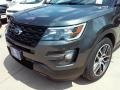 2016 Magnetic Metallic Ford Explorer Sport 4WD  photo #9