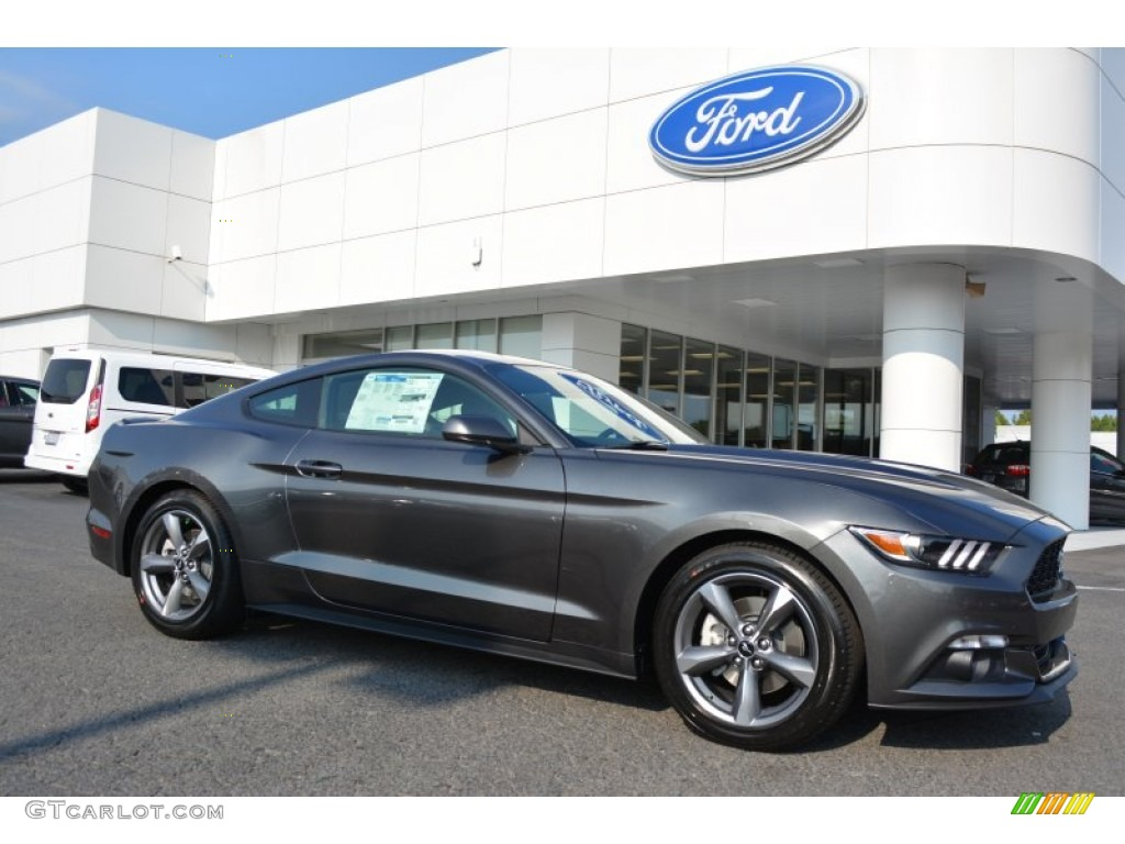 2016 Mustang Colors >> 2016 Magnetic Metallic Ford Mustang V6 Coupe 106692262