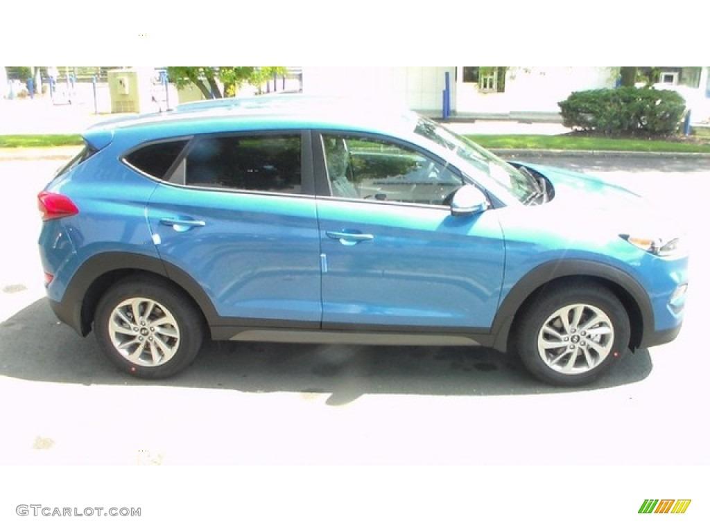 2016 Caribbean Blue Hyundai Tucson Eco 106692527 Photo 3