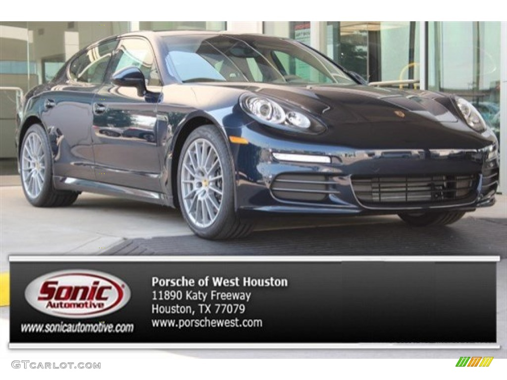 2016 night blue metallic porsche panamera 4 edition 106692336 car color galleries. Black Bedroom Furniture Sets. Home Design Ideas
