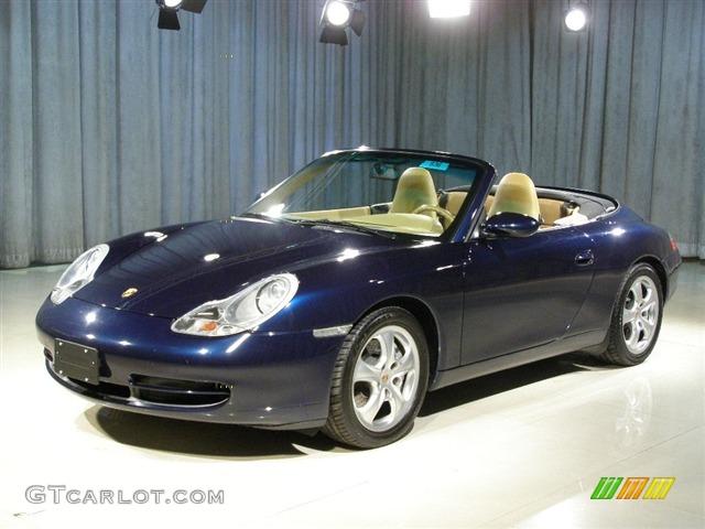 1999 Ocean Blue Metallic Porsche 911 Carrera 4 Cabriolet 106402 Gtcarlot Com Car Color Galleries