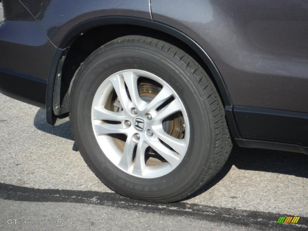 2011 CR-V EX-L 4WD - Urban Titanium Metallic / Black photo #3
