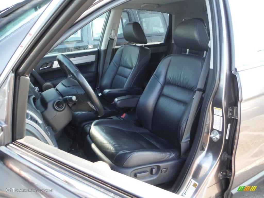 2011 CR-V EX-L 4WD - Urban Titanium Metallic / Black photo #11