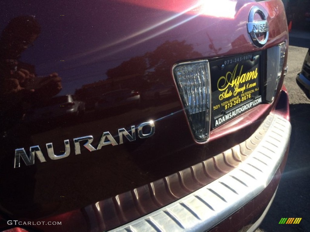2006 Murano SL AWD - Merlot Pearl / Charcoal photo #27