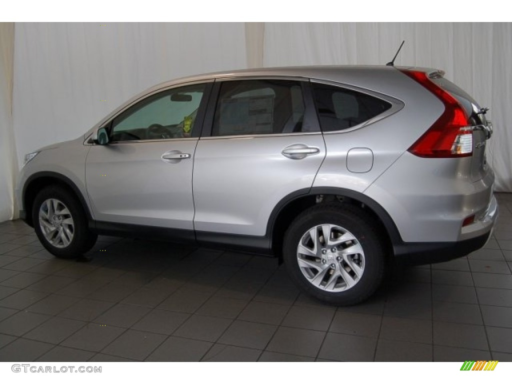 2015 CR-V EX - Alabaster Silver Metallic / Black photo #8