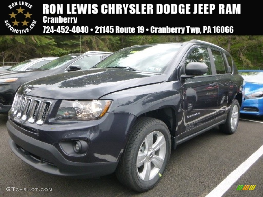 Jeep Compass Paint Blue Steel Metalic