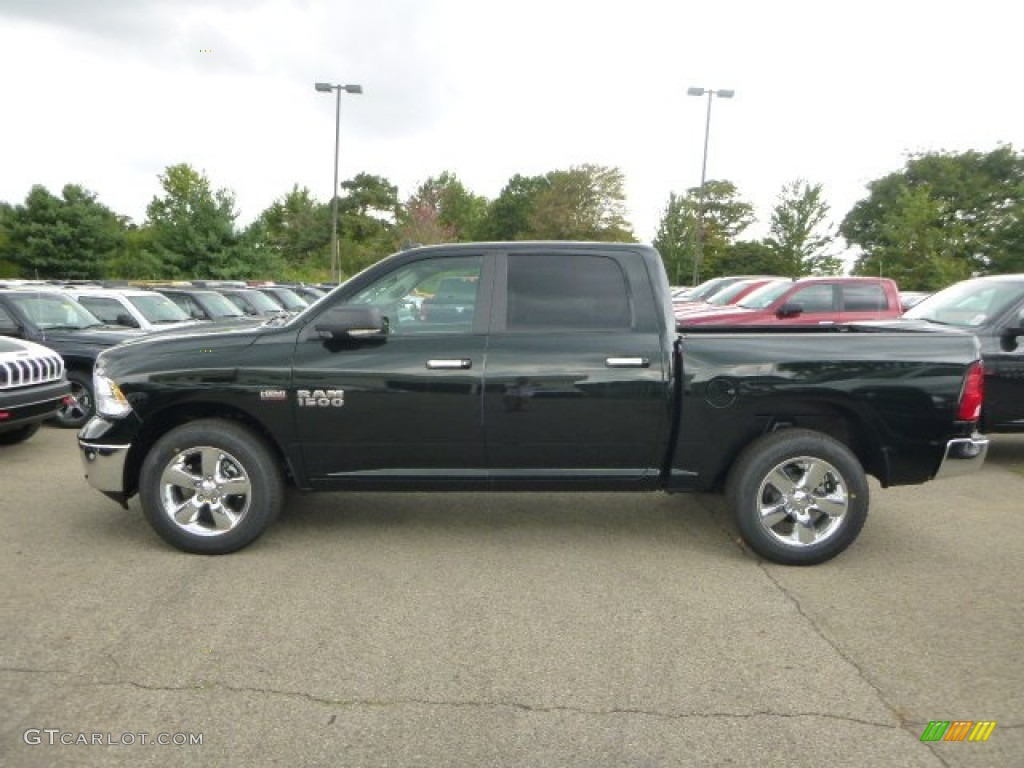 2016 black forest green pearl ram 1500 big horn crew cab 4x4 106758899 photo 3. Black Bedroom Furniture Sets. Home Design Ideas