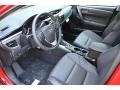 Black 2016 Toyota Corolla Interiors