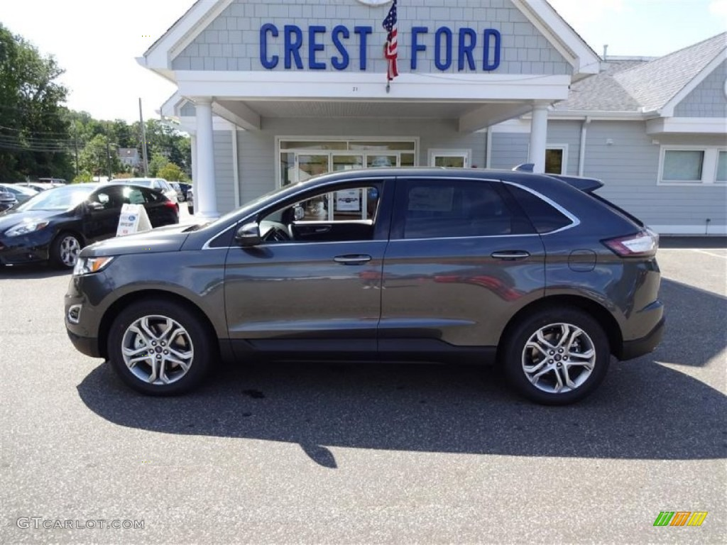 2015 ford edge titanium awd magnetic metallic color ebony interior - 2015 Ford Edge Magnetic