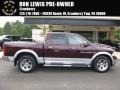 2012 Deep Molten Red Pearl Dodge Ram 1500 Laramie Crew Cab 4x4 #106758925