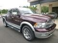 2012 Deep Molten Red Pearl Dodge Ram 1500 Laramie Crew Cab 4x4  photo #6