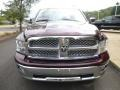 2012 Deep Molten Red Pearl Dodge Ram 1500 Laramie Crew Cab 4x4  photo #7