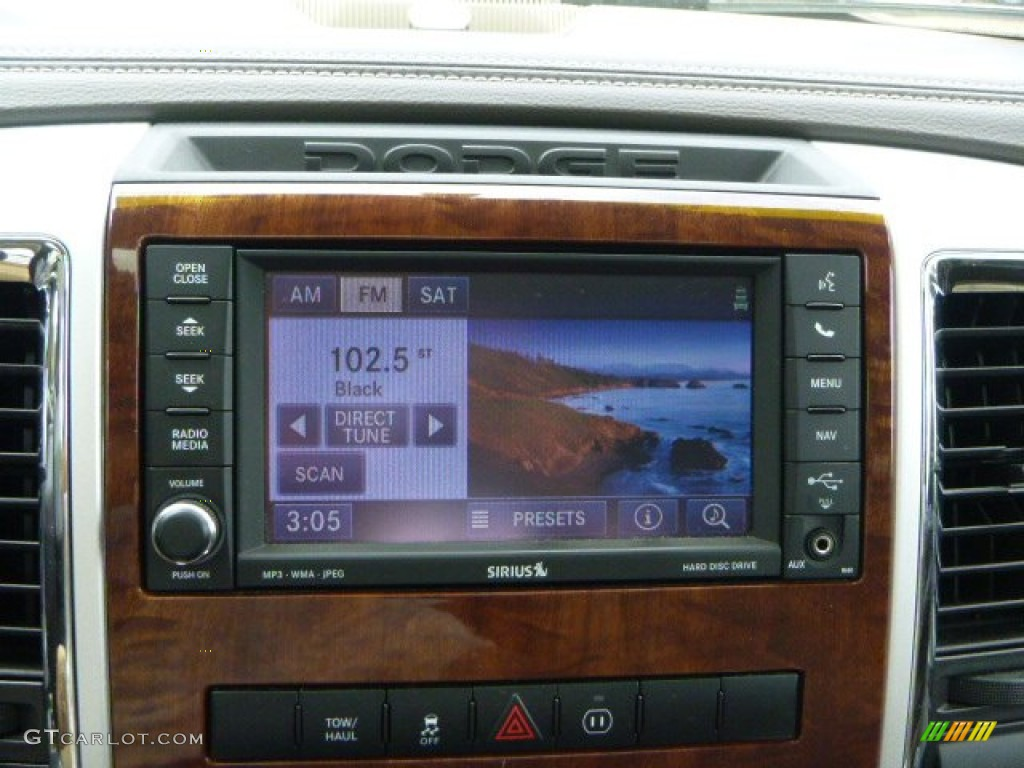 2012 Ram 1500 Laramie Crew Cab 4x4 - Deep Molten Red Pearl / Light Pebble Beige/Bark Brown photo #18