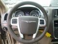 2016 Chrysler Town & Country Dark Frost Beige/Medium Frost Beige Interior Steering Wheel Photo