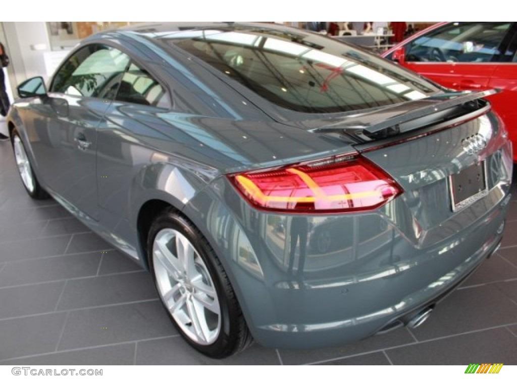 2016 Nano Gray Metallic Audi TT 2.0T quattro Coupe