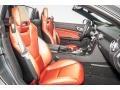 2016 SLK 300 Roadster Bengal Red/Black Interior