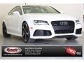 Ibis White 2015 Audi RS 7 4.0 TFSI quattro