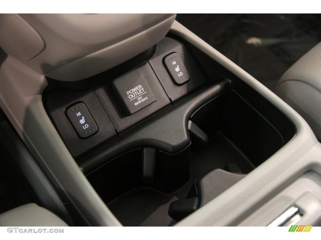 2014 CR-V EX-L AWD - Polished Metal Metallic / Gray photo #13