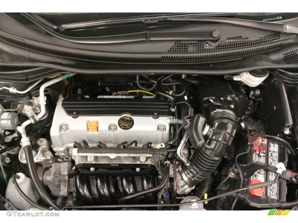 2014 CR-V EX-L AWD - Polished Metal Metallic / Gray photo #17