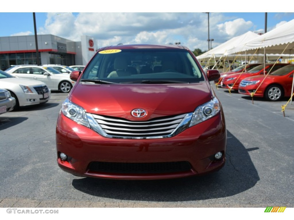 2015 salsa red pearl toyota sienna xle 106793425 photo 36 car color galleries. Black Bedroom Furniture Sets. Home Design Ideas