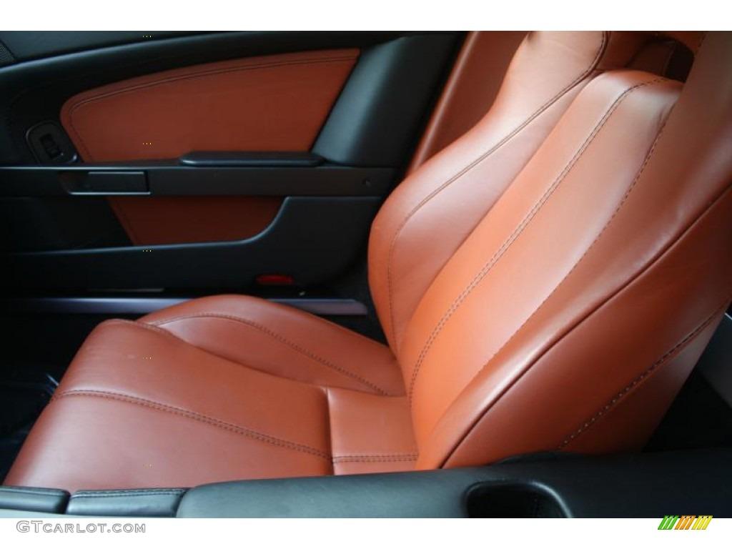 2007 Aston Martin V8 Vantage Coupe Interior Color Photos