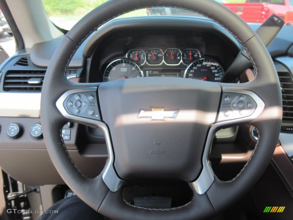 2016 Chevrolet Suburban Ltz 4wd Steering Wheel Photos