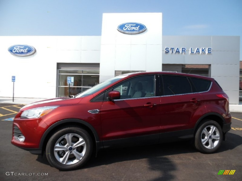 Sunset Metallic Ford Escape