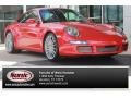 Guards Red 2005 Porsche 911 Carrera S Coupe