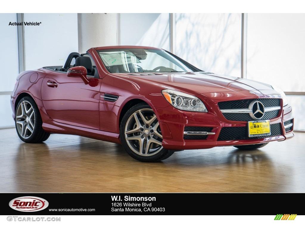 2016 Mars Red Mercedes Benz Slk 350 Roadster 106920176