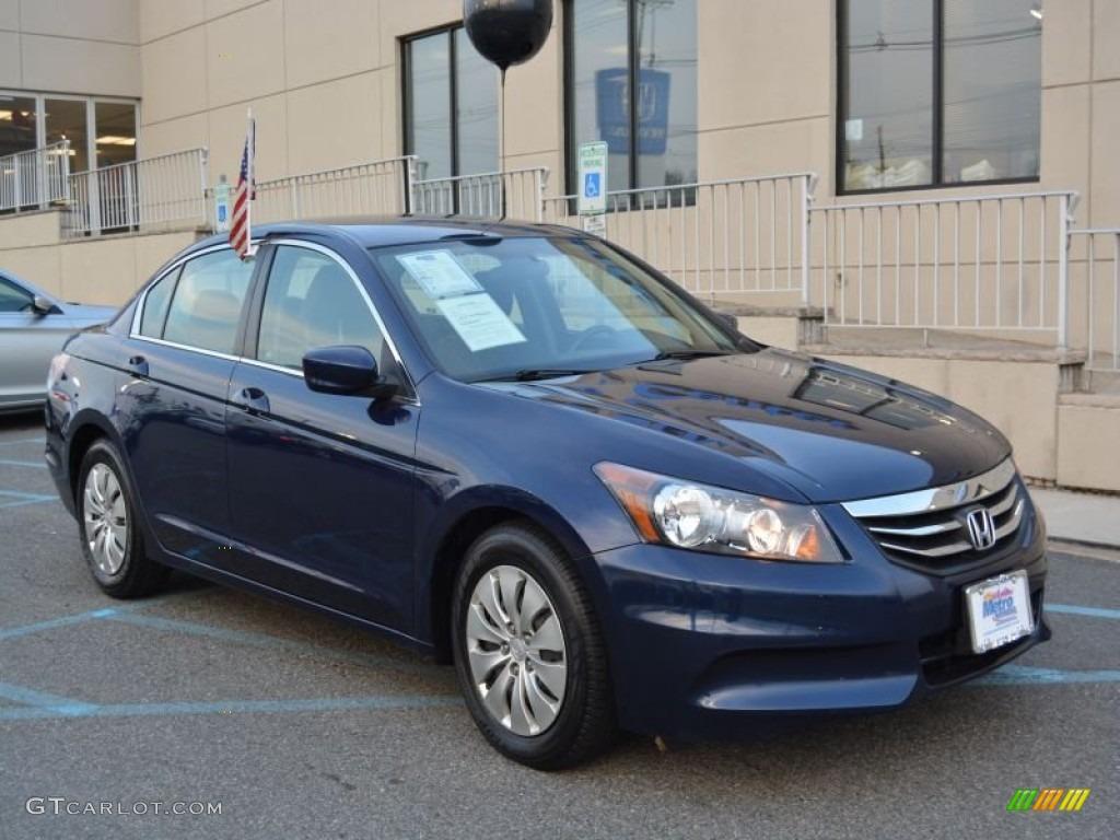 Royal Blue Pearl Honda Accord. Honda Accord LX Sedan