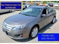 2011 Sterling Grey Metallic Ford Fusion SE V6  photo #1