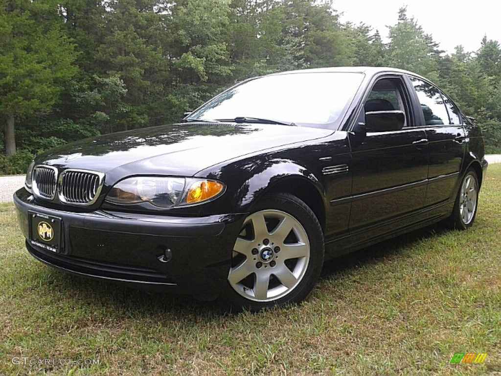 2002 jet black bmw 3 series 325i sedan 106920366. Black Bedroom Furniture Sets. Home Design Ideas