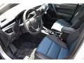 Steel Blue 2016 Toyota Corolla Interiors