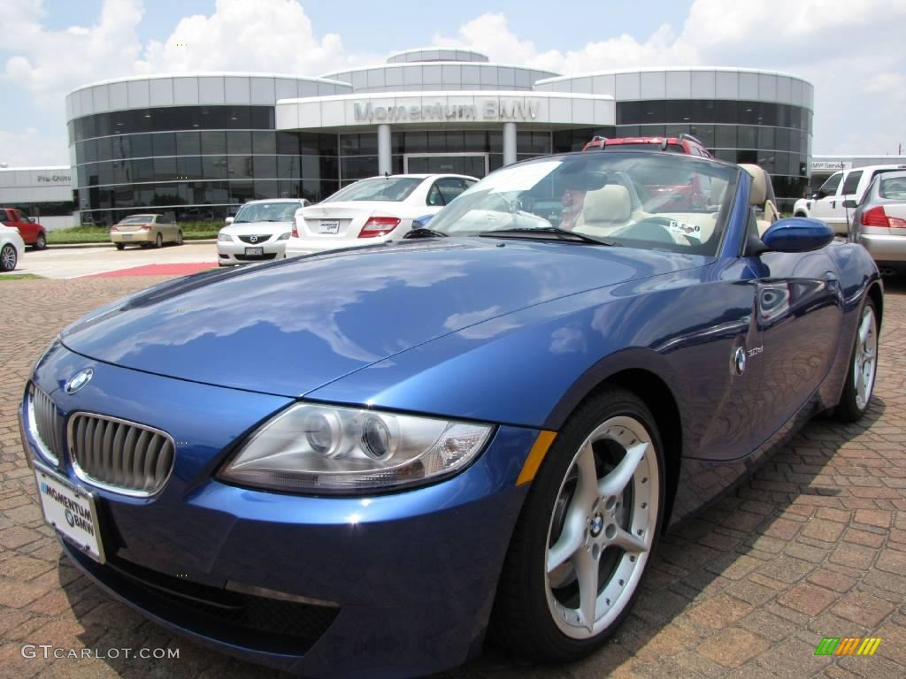 2007 Montego Blue Metallic Bmw Z4 3 0si Roadster 10685016