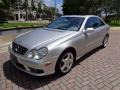 Front 3/4 View of 2003 CLK 500 Coupe