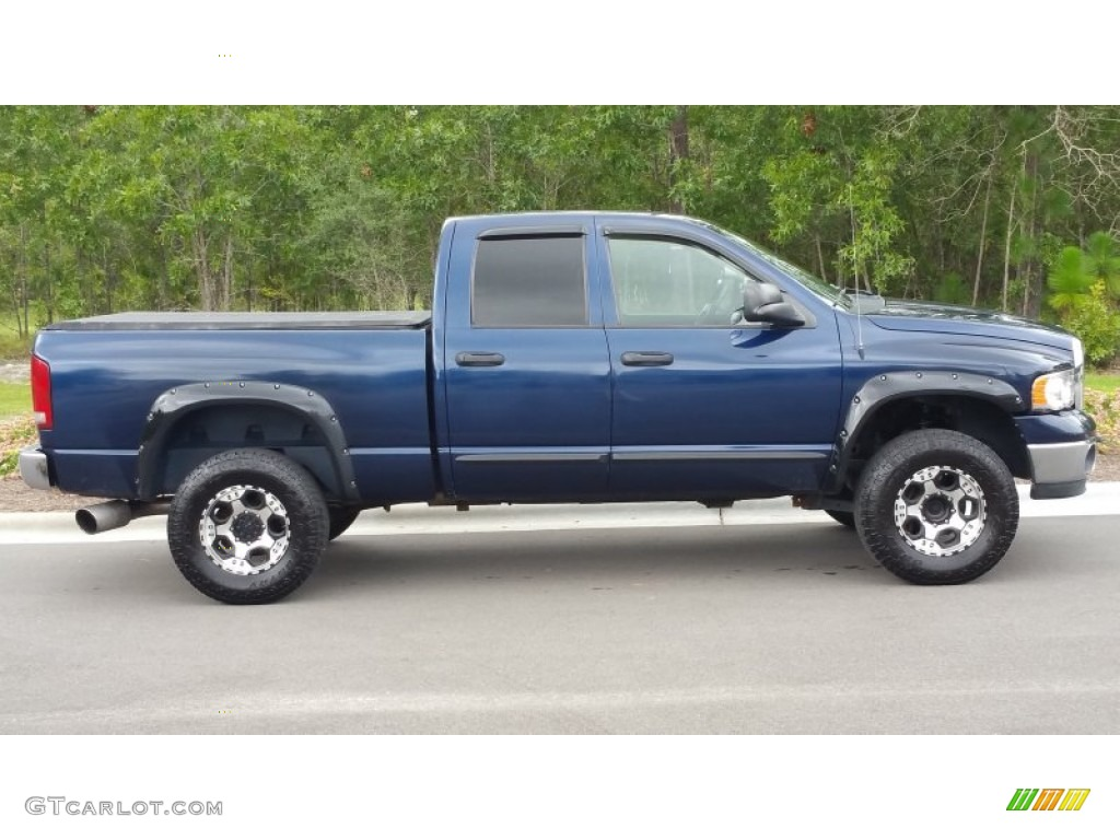 2006 Dodge Ram 2500 Quad Cab Power Wagon News >> Patriot Blue Pearl 2005 Dodge Ram 2500 ST Quad Cab 4x4 Exterior Photo #106972695 | GTCarLot.com