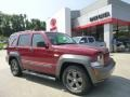 Deep Cherry Red Crystal Pearl 2011 Jeep Liberty Renegade 4x4