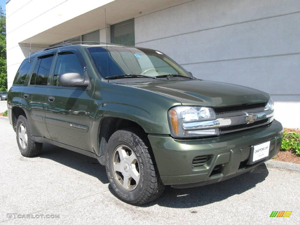 2002 chevrolet trailblazer ls 4x4 forest green metallic color. Cars Review. Best American Auto & Cars Review