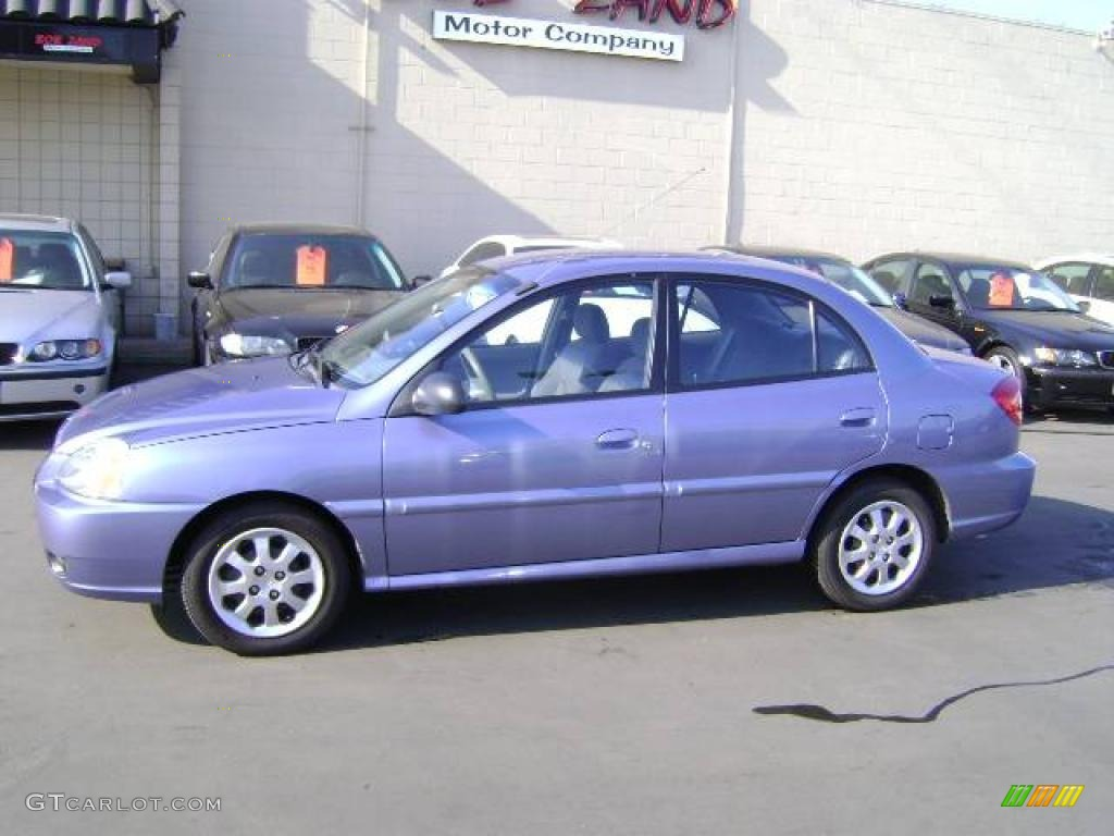 2003 rio sedan blueberry gray photo 5