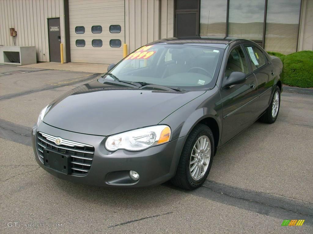 2004 Sebring Lxi Sedan Graphite Metallic Dark Slate Gray Photo 1
