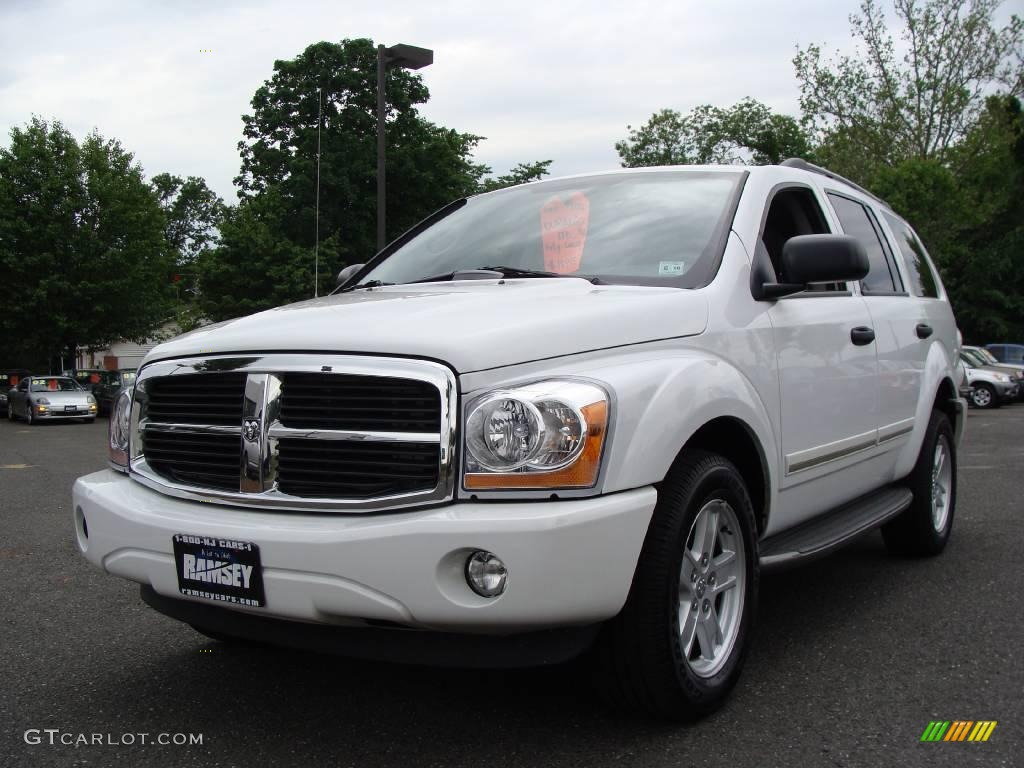 2006 bright white dodge durango limited hemi 4x4 10683144. Black Bedroom Furniture Sets. Home Design Ideas
